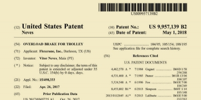 New US patent number US 9,957,139 B2