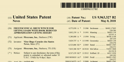 New US patent number 9,963,327